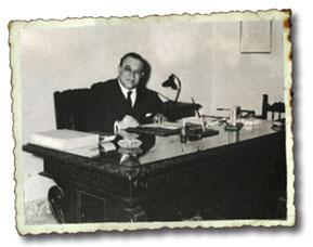 Enrico Vitelli, Primo Presidente Anicav